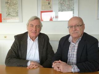 Dr. Ulrich Freund (l.) und Klaus Kresse