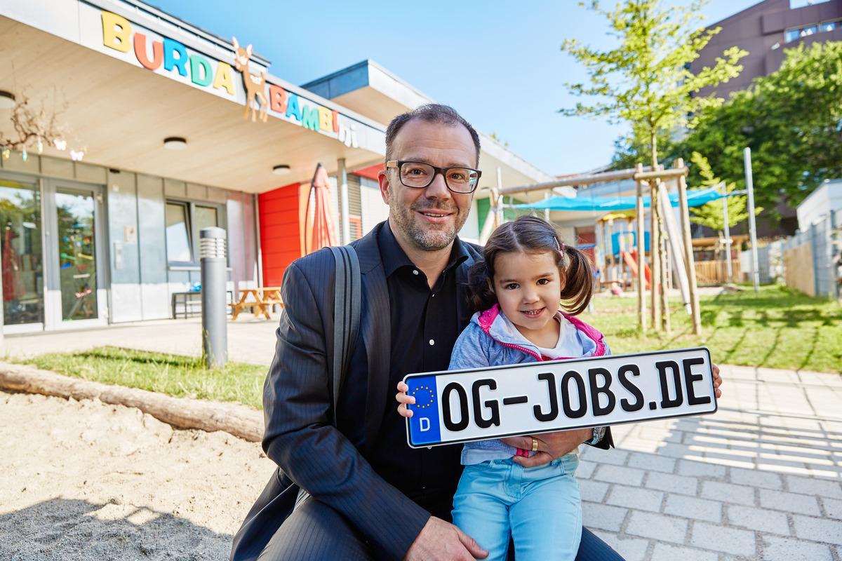 Kai Hockenjos mit seiner Tochter Vida