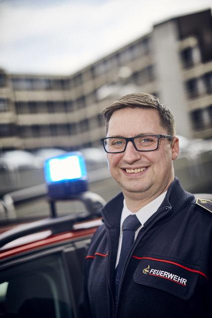 Seit fast zwei Jahren im Amt als Kreisbrandmeister der Ortenau: Bernhard Frei