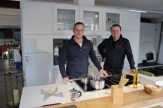 Inhaber Wilfried Hahn (links) und Thomas Pfeiffer