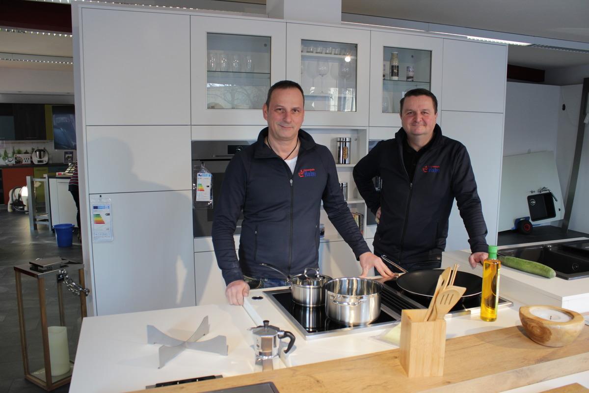 Wir kaufen lokal: Küchen Hahn Mösbach