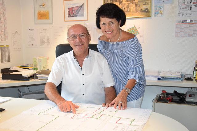 Eduard und Roswitha Volk legen Wert auf Qualität.