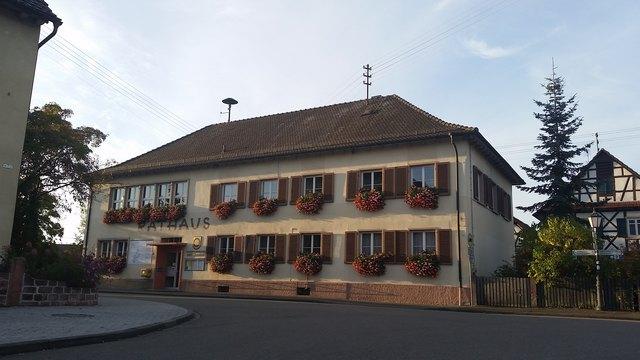 Neu überplant wird der Bereich rund um das alte Rathaus in Meißenheim.