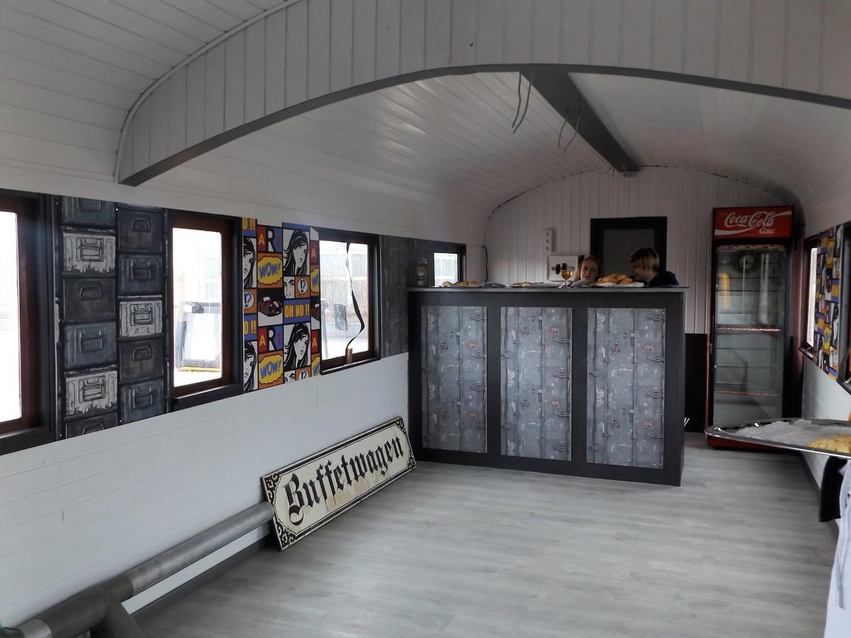 """Im Rahmen des Projekts """"Kinder- und jugendgerechte Landesgartenschau"""" wurde das Jugendcafé auf den Weg gebracht. Jugendliche ab 15 Jahren, die hier mitarbeiten wollen, können sich im Schlachthof melden."""