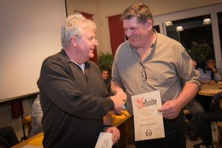 Zum Ehrenmitglied ernannt: Waldemar Bauer