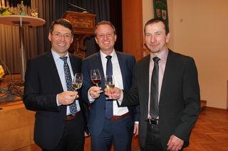 Bruno Metz, Pascal Weber, Clemens Schätzle (v. l.)