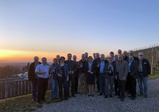 Vertreter der Offenburger Bürgergemeinschaften beim Treffen mit OB Edith Schreiner (Mitte)