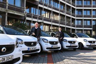 Künftig können die Mitarbeiter des Ortenaukreises im Elektromobil unterwegs sein.