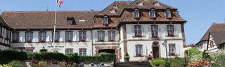 Die elsässische Stadt Marlenheim, hier das Rathaus, ist seit mehr als 30 Jahren die Partnerstadt von Rust.