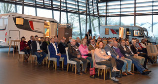 Beim Unternehmerforum im Bürstner Service Center in Neumühl ging es um den deutsch-französischen Arbeitsmarkt.
