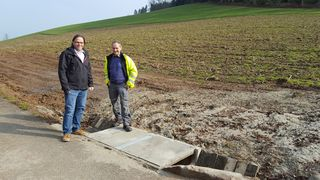 Bürgermeister Carsten Gabbert hofft, dass Überflutungen nun der Vergangenheit angehören.