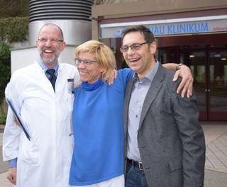 Dr. Rüdiger Feik, Franziska Müller und Klaus Muttach