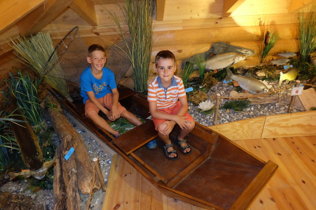 Im Naturzentrum Rheinauen können nicht nur Kinder viel entdecken.