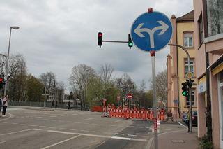 Der zweite Bauabschnitt in der Wilhelmstraße hat begonnen, der südliche Teil ist wieder befahrbar.