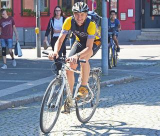 Frank Wagner, Leiter des Bereichs Gründflächen der Stadt Kehl, war der Stadtradel-Gewinner 2017. Er sammelte die meisten Kilometer.
