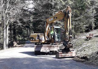 Im Moment laufen die Vorbereitungen für die Sanierungsarbeiten – ab Montag ist das Ecklesträßle dann gesperrt.