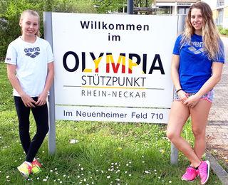 Alessa (links) und Chiara Mnich waren bei den Landesmeisterschaften wieder erfolgreich.