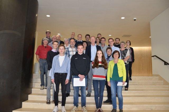 24 Ortenauer besuchten auf Einladung der Landtagsabgeordneten Sandra Boser den Landtag in Stuttgart.