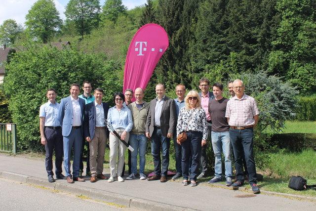 158 Haushalte in Ettenheimmünster werden mit schnellem DSL erschlossen.