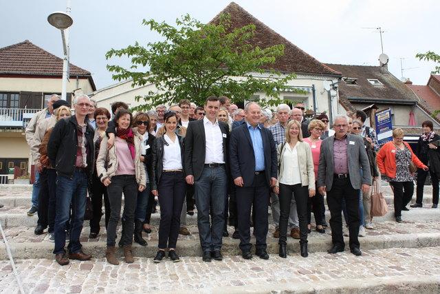 Regelmäßig besucht eine Delegation aus Tavaux die Partnergemeinde Friesenheim.