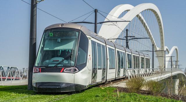 Seit einem Jahr verbindet die Tramlinie D Kehl und Straßburg.