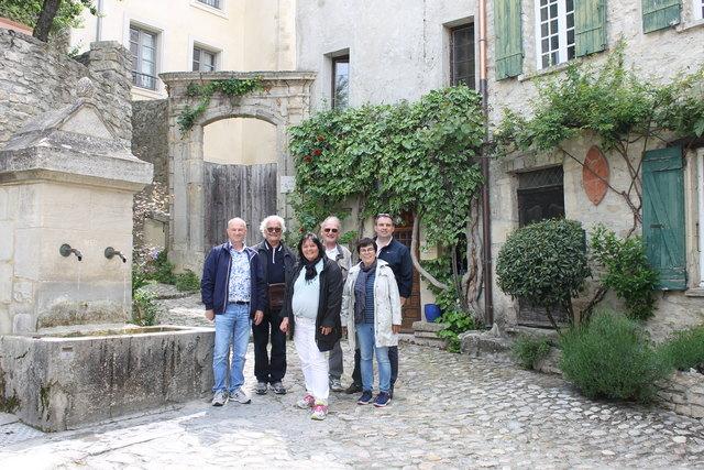 Die Delegation aus Mahlberg