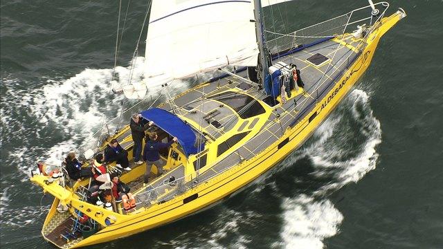Das Forschungsschiff gehört für einen Tag Renchener Schülern.