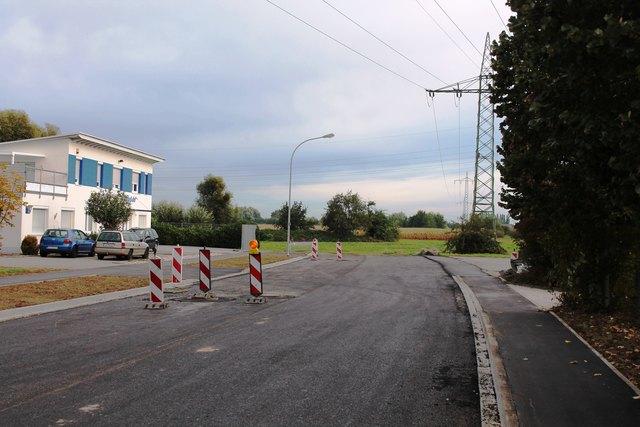 Keine Fortführung der Straße im Industriegebiet Waltersweier als Umfahrung