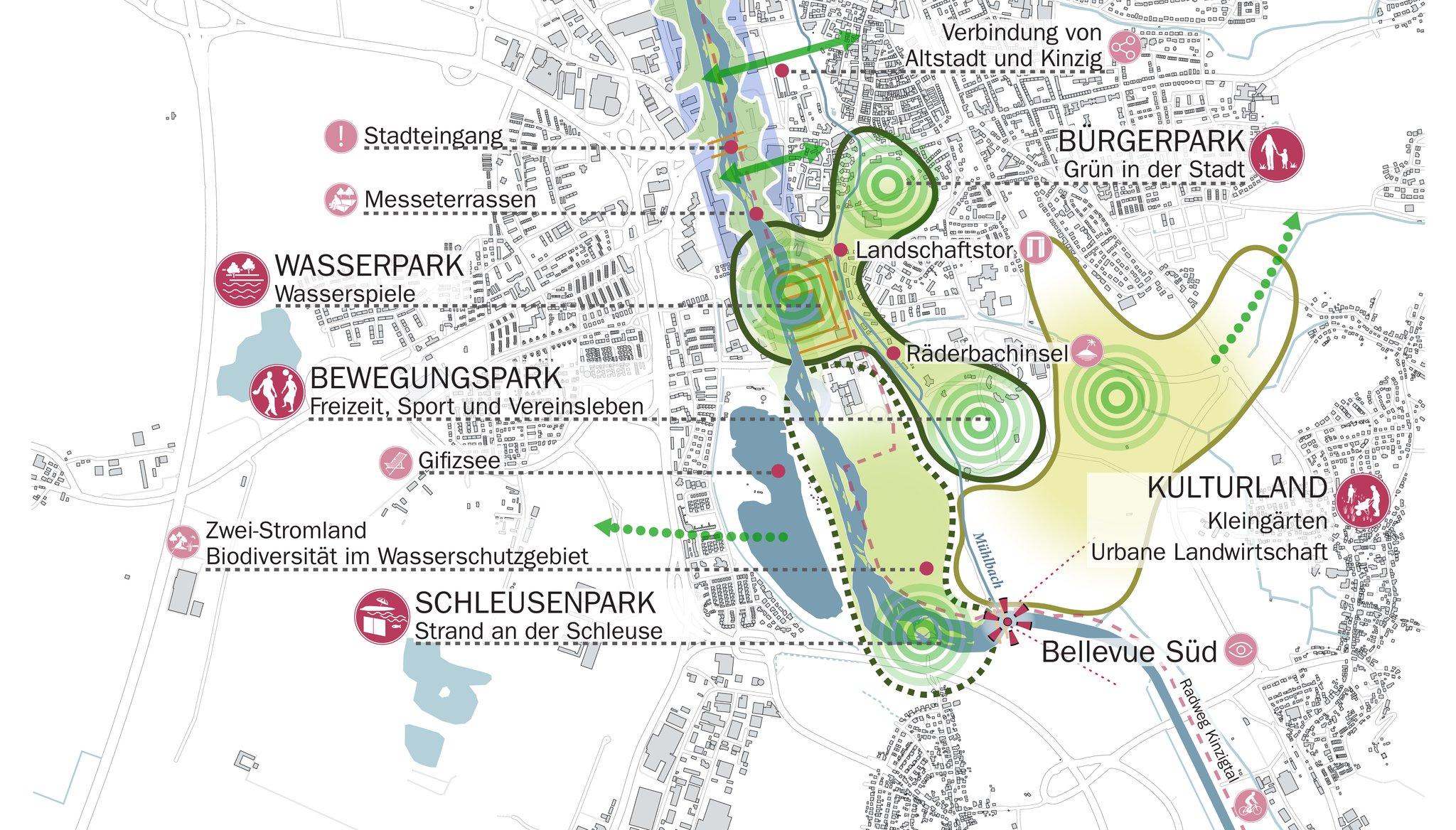Landesgartenschau-Pläne: Kinzig-Renaturierung als zentrales Vorhaben ...