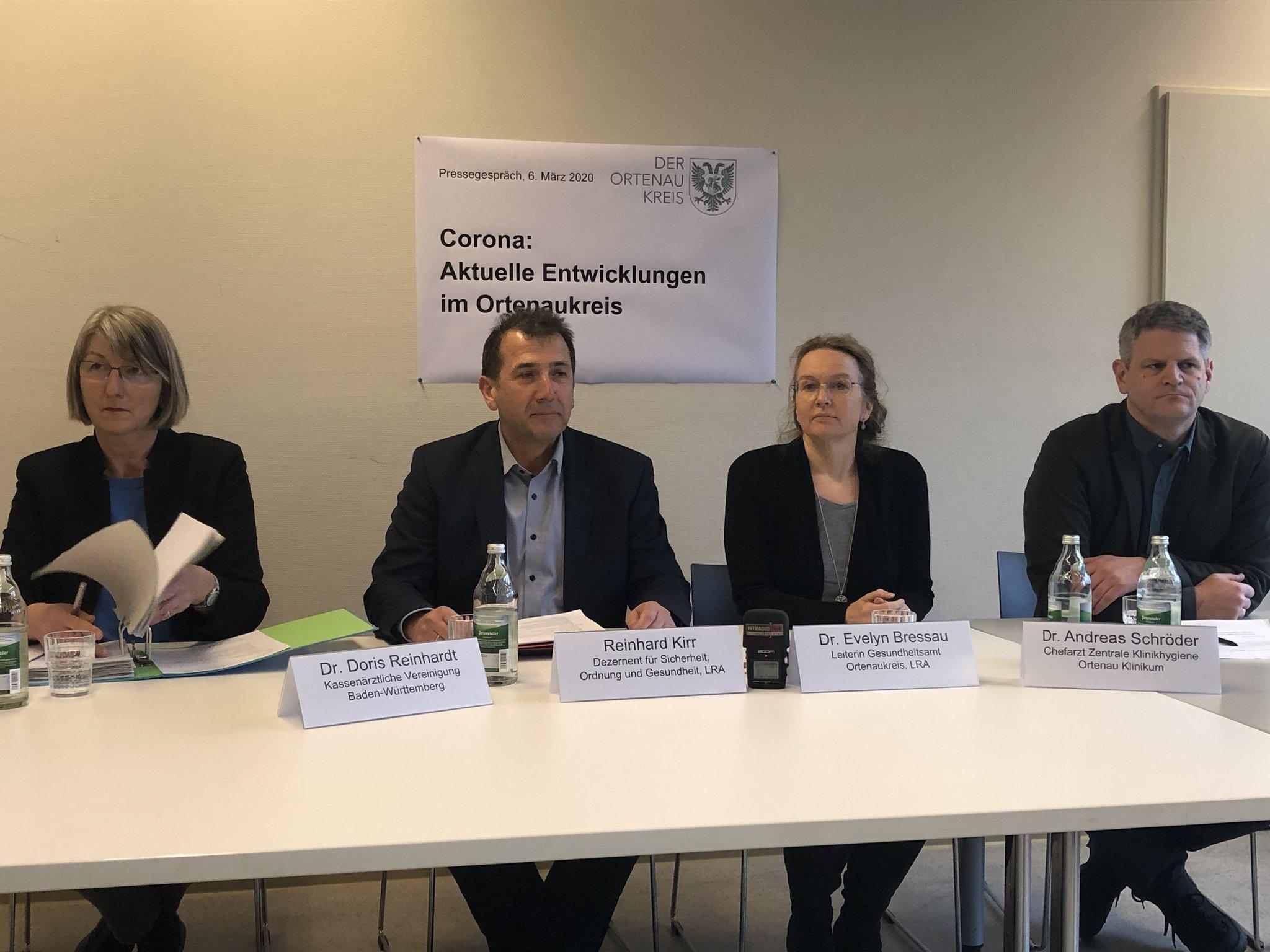 Corona Ortenau Pressekonferenz