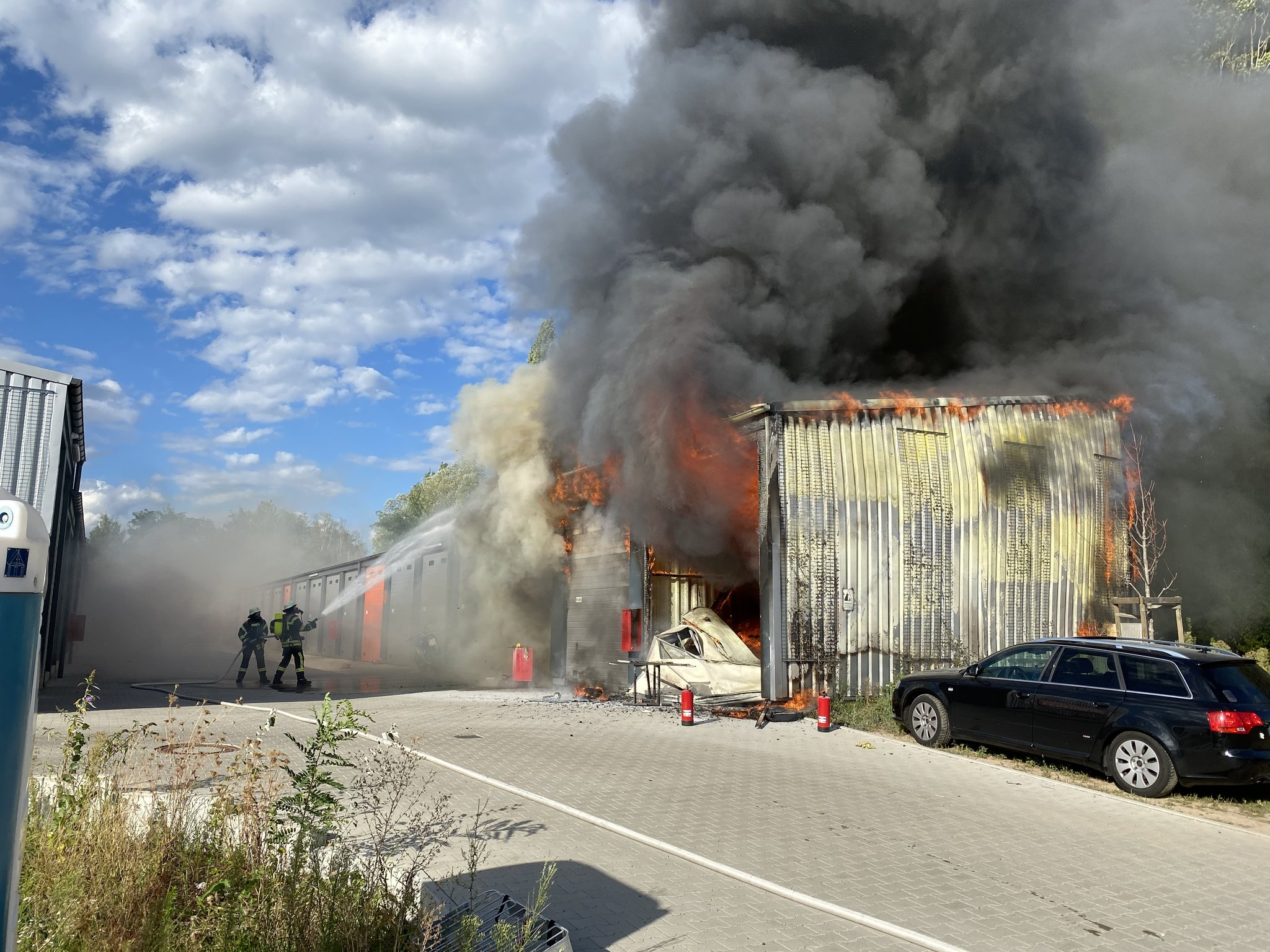 Brand Offenburg Heute