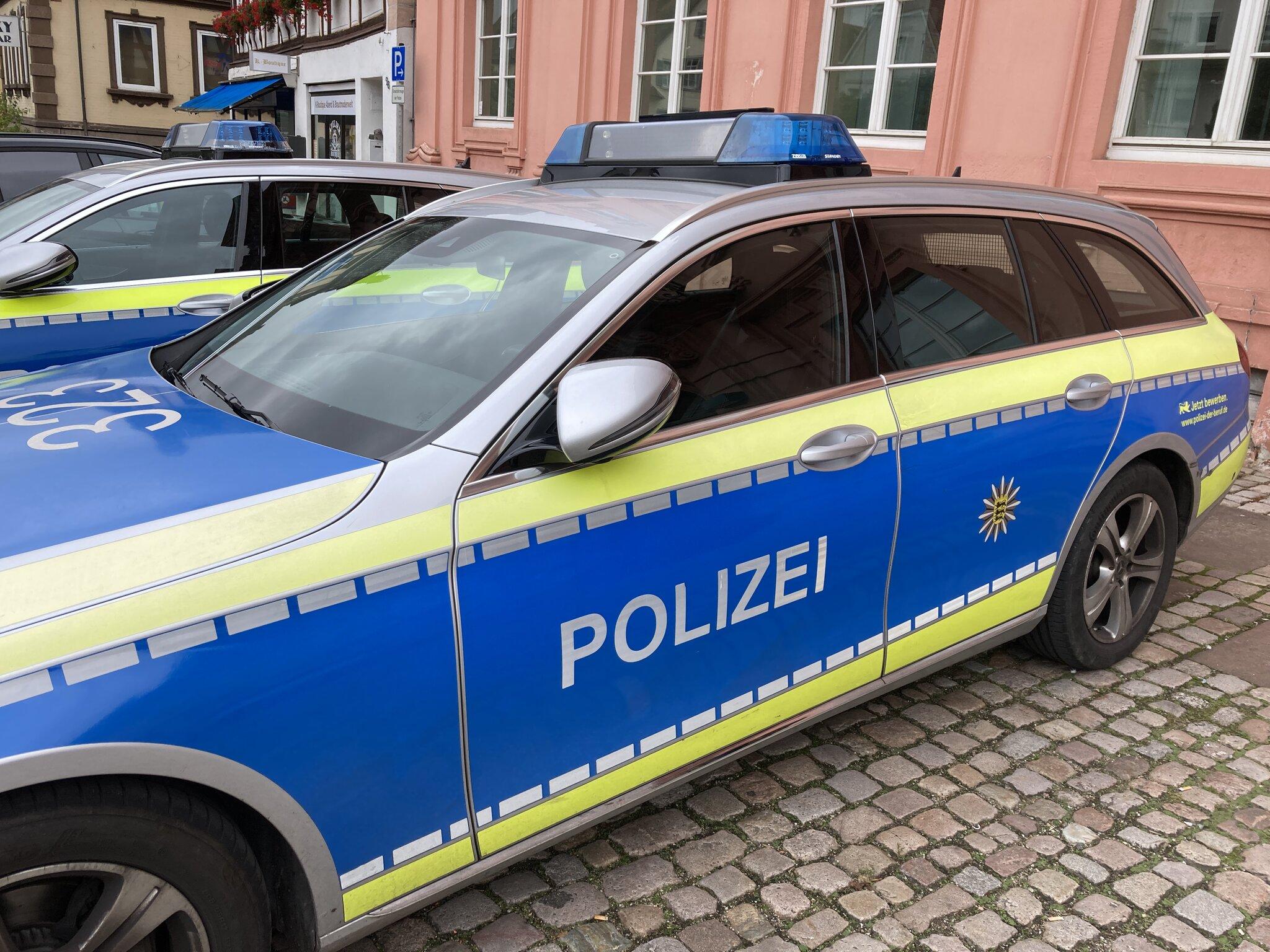 Polizeimeldung Offenburg